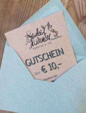 Wertgutschein € 10,-